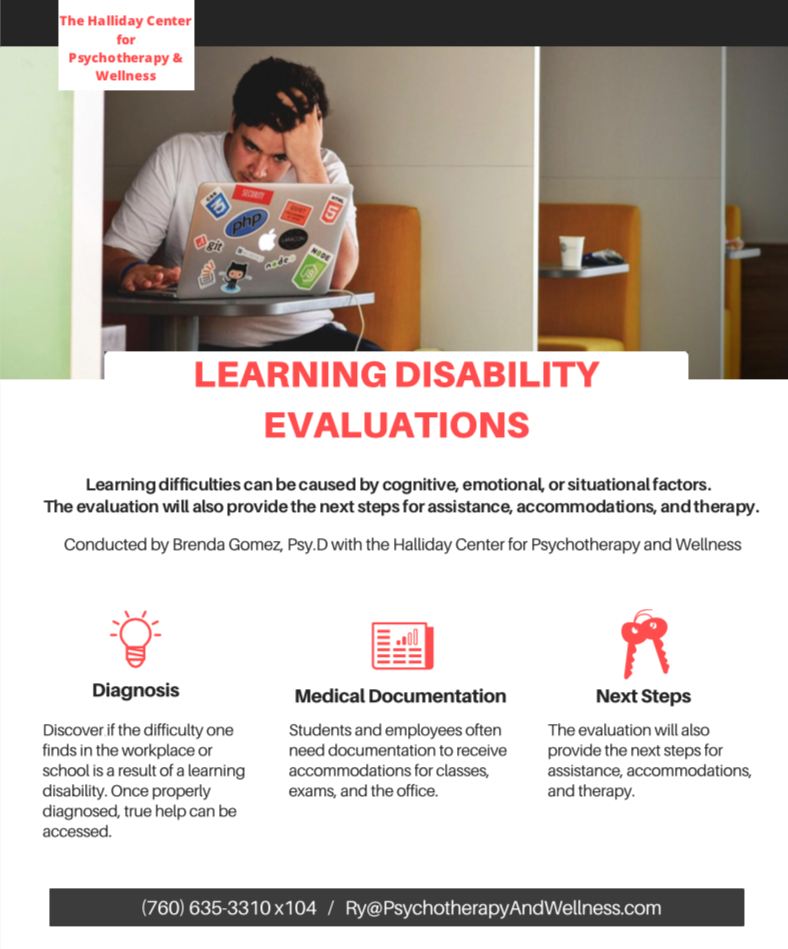 Learning Disability Evaluations